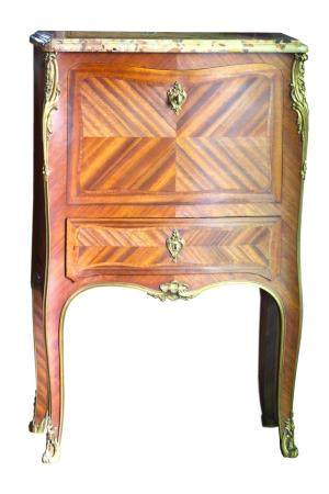 A Gilt-Bronze Mounted Secretaire attributed to Linke