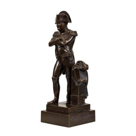 A French Bronze Figure of Napoleon Bonaparte
