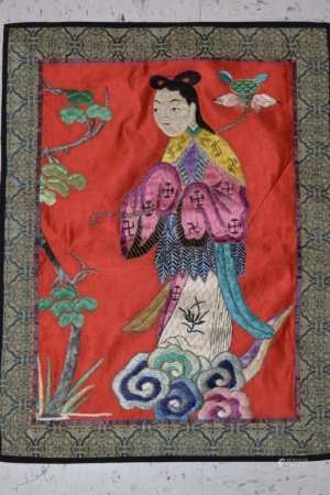 Chinese Figural Embroidery