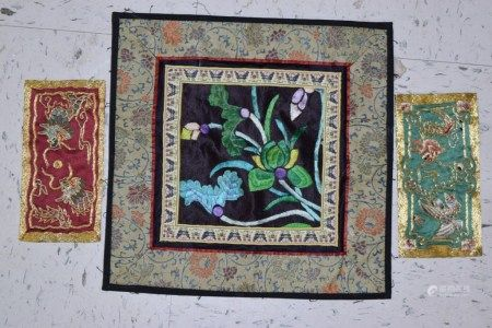 Group of Chinese Embroideries