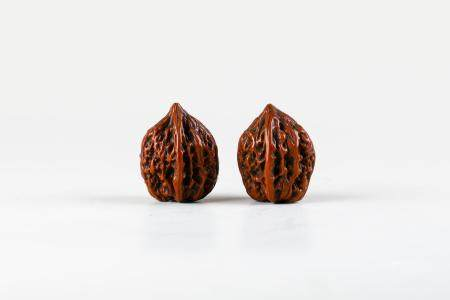 Chinese Qing Dynasty Walnuts, Pair