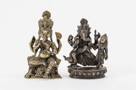 Zwei Ganeshas