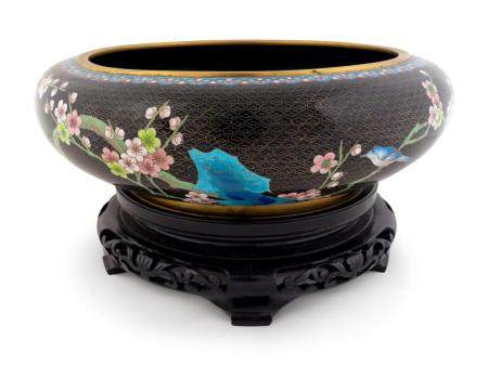 A Chinese Cloisonné Circular Bowl