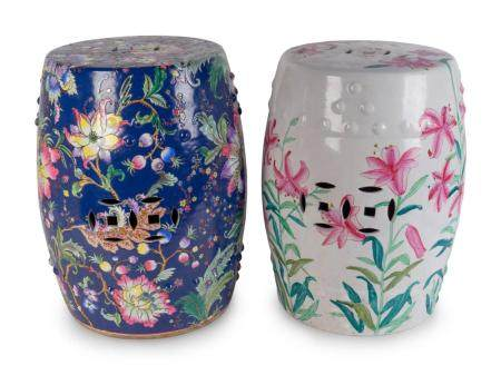 Two Chinese Porcelain Garden Seats