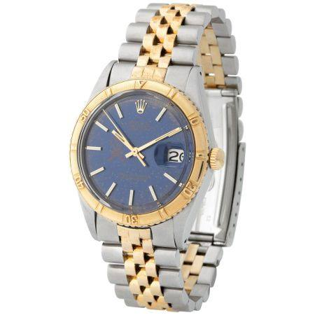Rolex. Striking and Valuable Datejust Automatic Wristwatch in Steel and Gold, Reference 1625, B