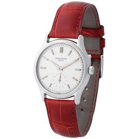 Patek Philippe. Fine and Limited Edition Calatrava-Style Wristwatch in Steel, Reference 3923, M