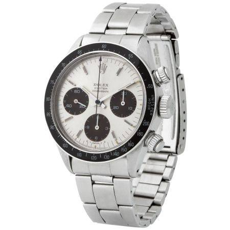 Rolex. Highly Exclusive and Very Attractive Daytona Chronograph Wristwatch in Steel, Reference