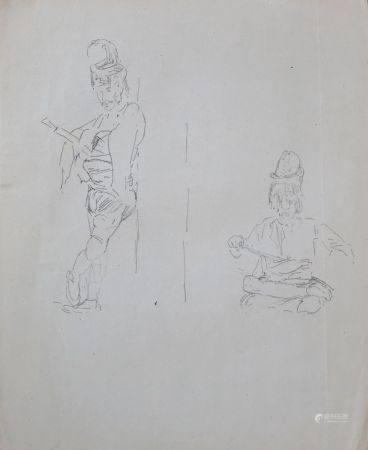 Charles Émile Vacher DE TOURNEMINE (1812-1872) Lot d'environ soixante dessins, chevaux et caval