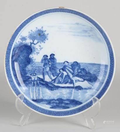 Rare Chinese dish, Ø 20.2 cm.