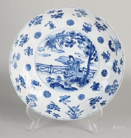 Chinese Kang Xi plate Ø 21.5 cm.