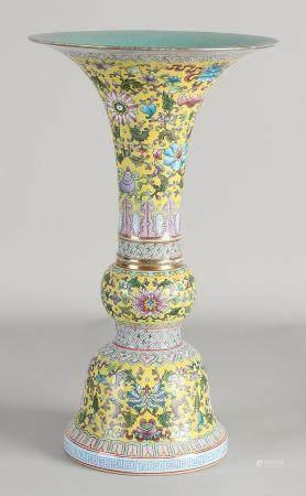 Chinese Family Rose vase