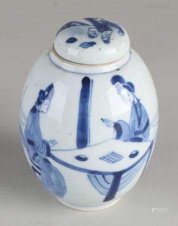 Kang Xi tea caddy