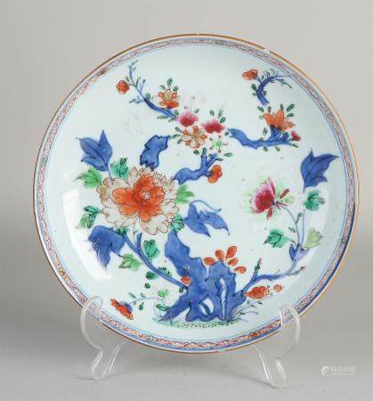 Chinese Family Rose plate Ø 22.5 cm.