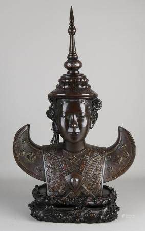 Chinese / Tibetan imperial bust