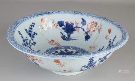 Chinese Imari Kang Xi bowl Ø 26.2 cm.