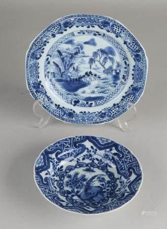 Chinese plate + klapmuts bowl