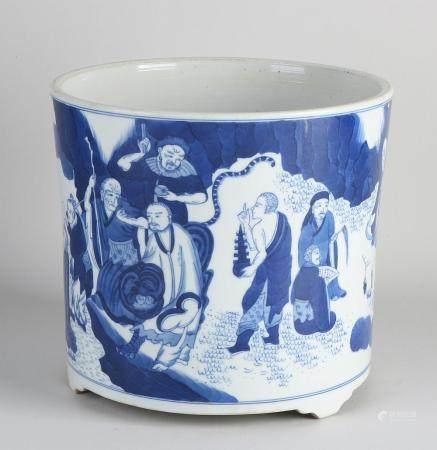 Chinese brush cup Ø 21.6 cm.