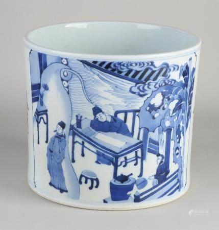 Chinese brushes pot