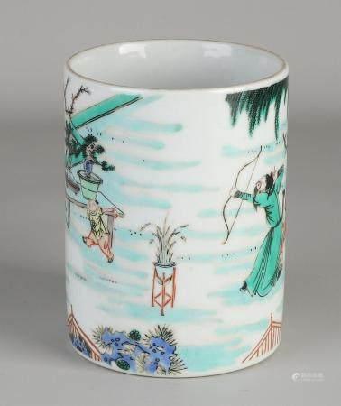 Family Verte brush vase