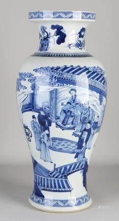 Chinese vase (blue / white)