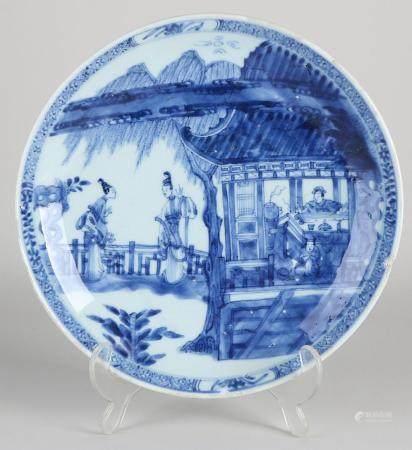 Kang Xi plate Ø 24.5 cm.