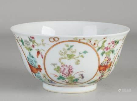 Chinese Family Rose bowl Ø 13.5 cm.