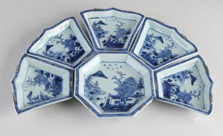 6x Chinese porcelain