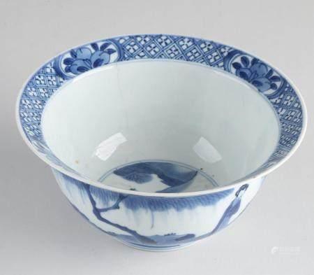 Chinese Kang Xi klapmuts bowl Ø 16 cm.