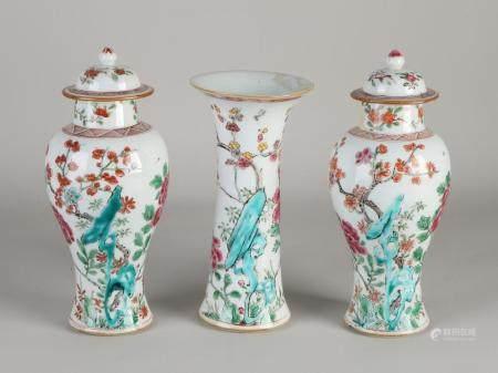 Three-piece Chinese garniture