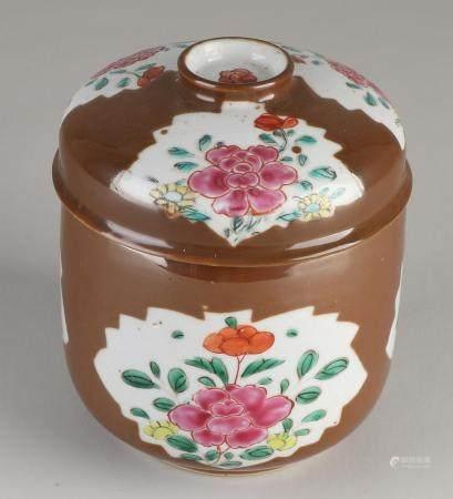 Chinese capuchin jar lid