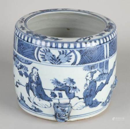 Chinese brush vase