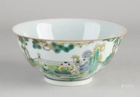 Chinese Family Rose bowl