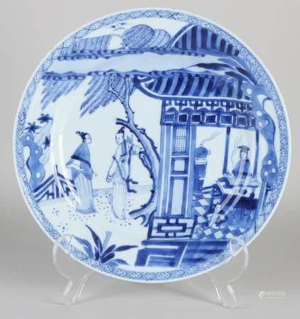 18th Century Kang Xi plate Ø 22.6 cm.
