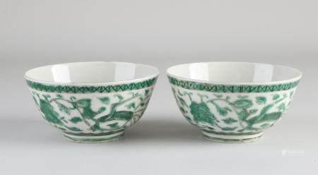 Set Familie Verte bowls Ø 11.4 cm.