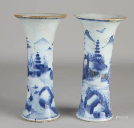 2 Chinese vases