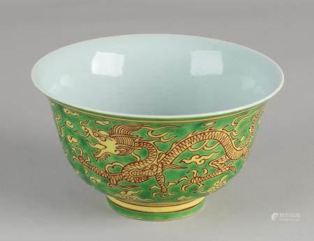 Chinese dragon bowl Ø 13 cm.