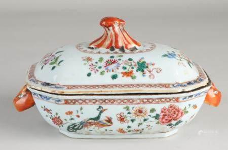 Rare Chinese lidded dish