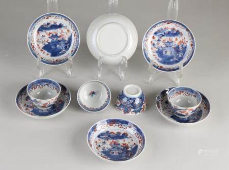 Lot of Chinese Imari porcelain (10x)