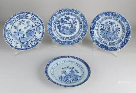 4 Chinese Quen Lung plates
