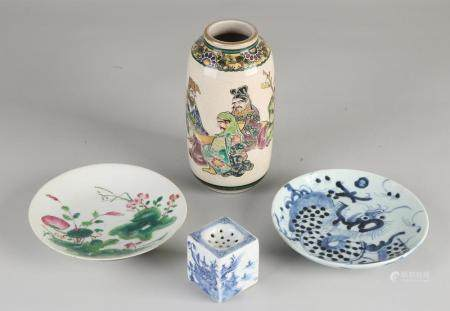 4 parts of antique Chinese porcelain
