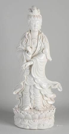 Chinese Quan Yin, Blanc de Chine