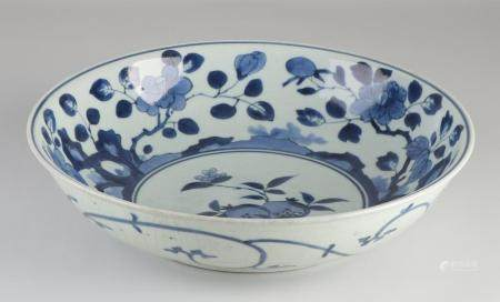 18th Century Japanese dish, Ø 32 cm.