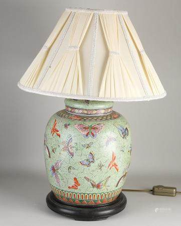 Chinese lamp base