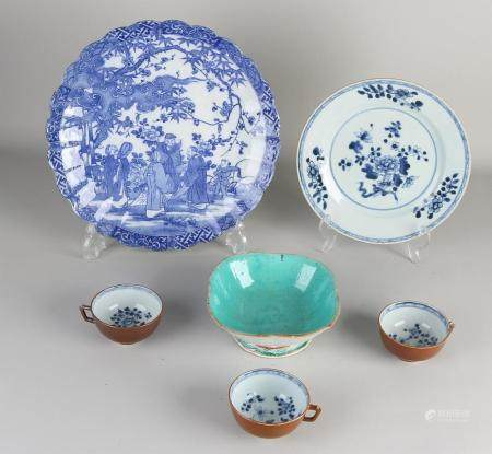 Lot of Chinese porcelain (6x)