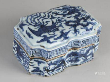 Chinese lidded box