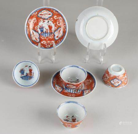 Lot of Chinese Imari porcelain