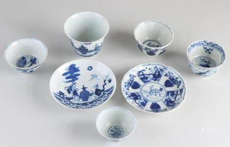 Seven parts of Chinese porcelain