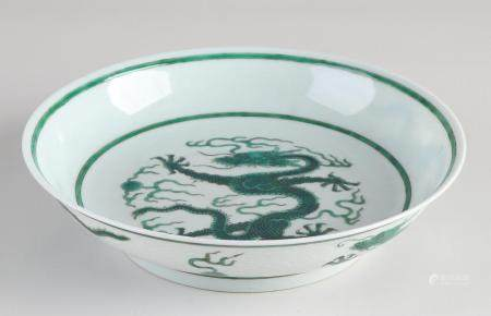 Chinese Verte family dragon dish