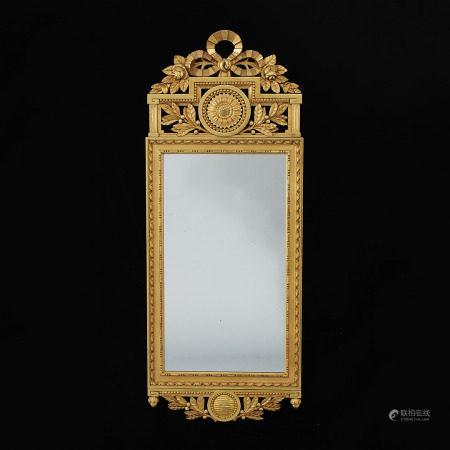 Gilt Mirror, 1900s.