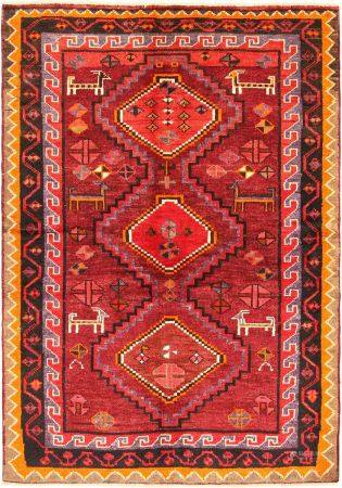 Oriental Carpet, Lori, Iran, Wool, 136 x 193 cm.